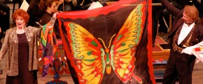 Here's an example of a beautiful silk scarf for stage use.